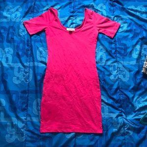 Forever 21 pink mini dress
